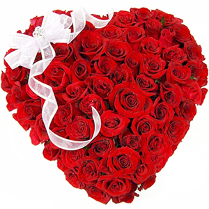 100 red roses heart rs 4499 order now valentines day flowers