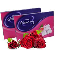Send Valentines Day Chocolates to India