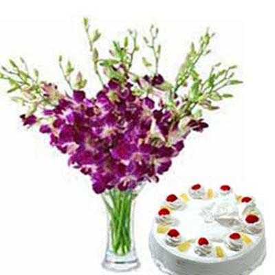 Online Cakes and Flowers to Chennai