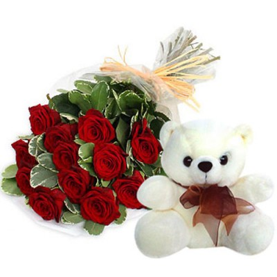 Same Day Delivery Of Softtoys and Flowers to Chennai