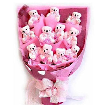 Send Softtoys and Flowers to Chennai